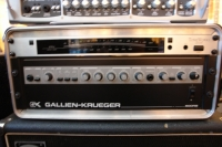 GK 800RB and Ampeg SVT 4x10 bass rig