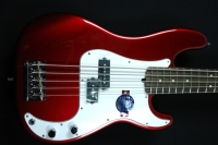 Fender American Standard Precision Bass V Mystic Red