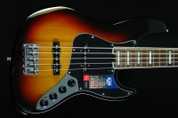 Fender American Elite Jazz Bass V, Tobacco Burst