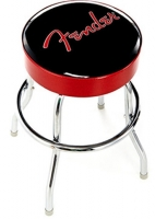 "Fender 24"" Stool - Red Black"