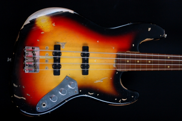 Fender Custom Shop Jaco Pastorius Relic Jazz